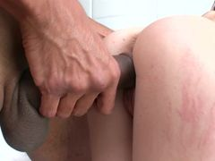 First Big Cock Fucking For A Petite Brunette Cutie