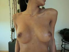 Oiled And Aroused Chloe Amour Fucks Passionately
