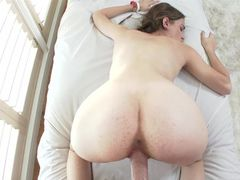 Super Cute Braided Pigtails On The Hardcore Teen