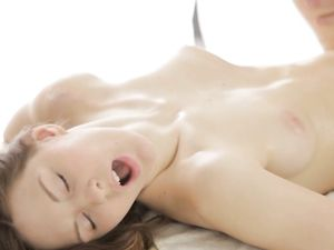 Teenage Mouth Makes Him Hard For Her Slick Pussy