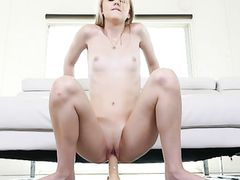 Riding Dildo And Taking Dick In An Erotic Sex Scene