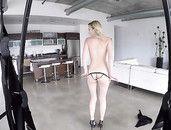 Lean Body Beauty Peyton Coast Fucked In A Sex Swing