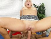 Big Butt Blonde Macy Cartel Fucks A Load Out Of Him
