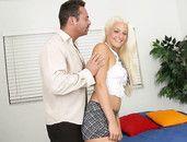 Big Butt Blonde Macy Cartel Fucks A Load Out Of Him