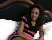 Fucking A Tiny Tits Black Girl And Cumming Hard