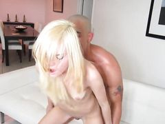Little Blonde Chloe Foster Fucked And Facialized