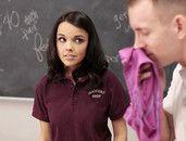 Teacher Cums On Dillion Harper After Fucking Her