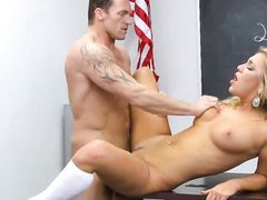 Cum On The Tits Of Sexy Cameron Dee