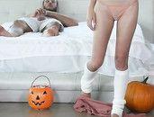 Beautiful Young Adria Rae Fucked On Halloween