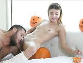 Beautiful Young Adria Rae Fucked On Halloween