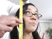 Little Slut And A Big Man Have Hot Sex