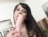 Slut Spreads For Solo Dildo Fucking Pleasures