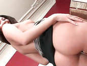 Anal Beads Up The Asshole Of This Bent Over Girl