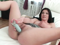 Long Legged Teen Toyed And Taken Up The Ass