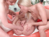 Nasty Blonde Lesbian Wants Anal Fisting Sex