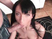 Teen Fits His Big Cock Into Her Young Asshole