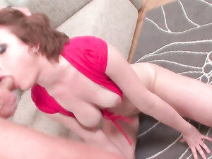 Her Whore Mouth Is About To Be Stuffed With A Big Cock