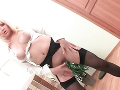 Big Ass Of A Russian Blonde Was Made For Fucking