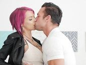 Huge Boobs Babe Anna Bell Peaks Fucks Passionately