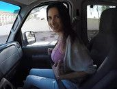 Hitchhiker Gives Up Her Pussy To Get A Ride