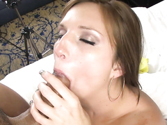 Curvy Sweetheart Strips And Fucks In A Hotel Room