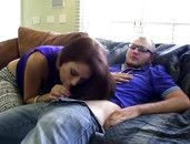Amateur Friends Fuck A Nerdy Guy Together