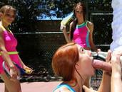 Sporty Hardcore Fucking On A Tennis Court