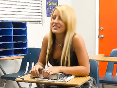 Unabashedly Slutty Schoolgirl Fucks The Teacher