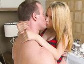 Passionate Young Mae Olsen Fucks In A Hotel Room