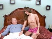 Grandpa And His Fat Cock Fuck A Teenage Slut