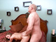 Grandpa And His Fat Cock Fuck A Teenage Slut