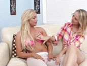 Dirty Blonde And Cameron Dee Eating Pussy All Day