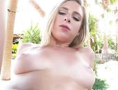 GString Bikini Girl Taylor Whyte Fucks By The Pool