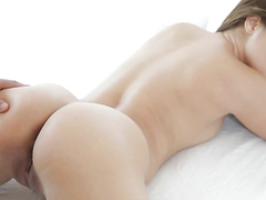 Curvy 19 Year Old Impales Her Pussy On A Hard Cock