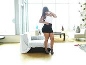 Beautiful Booty On Hardcore Latina Slut Rose Monroe
