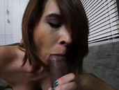POV With Cece Capella Shows Her Dick Sucking Skills