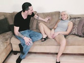Petite Blonde Is Passionate About Fucking Her Stepbrother
