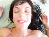 Big POV Facial Nearly Covers Her Pretty Face
