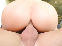 Beautiful View Of Balls Deep Missionary With Alexis Adams