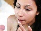 Hot Facial Cumshot For Sexy Slut Jade Jantzen