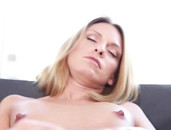 Cougar Fingers Her Cum Filled Pussy