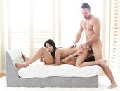 Erotic Fuck And Facial Threesome With Beautiful Girls