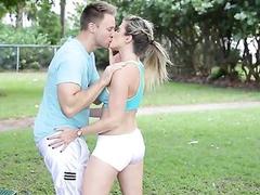 Fucking Hot Fitness Babe Cory Chase Hardcore